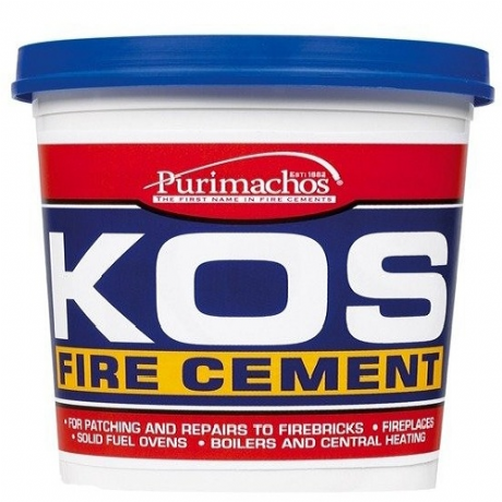 KOS Fire Cement Tub 500g black